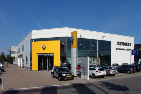 Bedrijven de architekten for Garage renault poperinge belgique