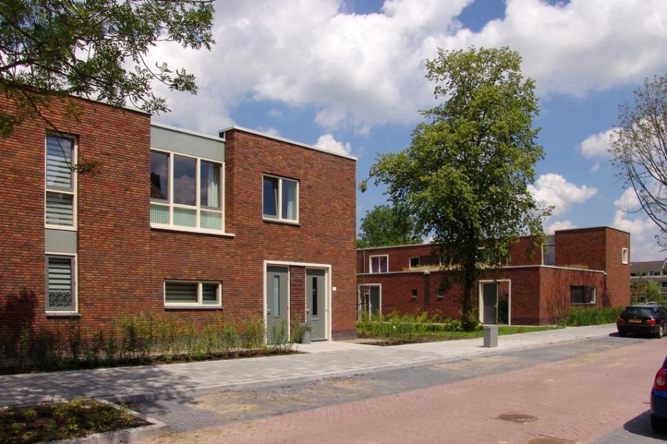 Bomen en bloemenkwartier DE architekten