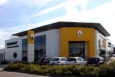 Renault garage Zeeuw Delfgauw DE architekten