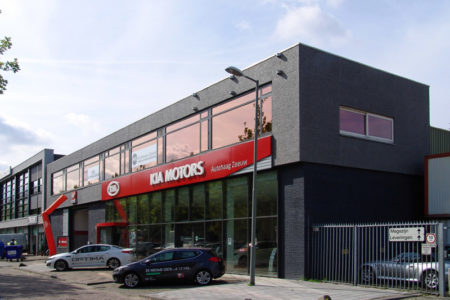 Kia garage Schiedam DE architekten