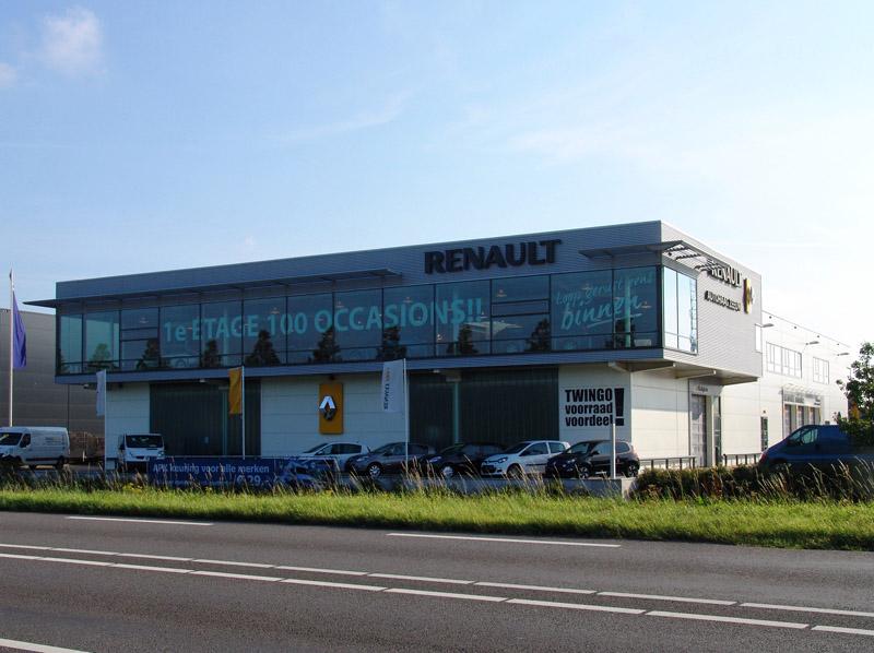 Renault garage Zeeuw Naaldwijk DE architekten